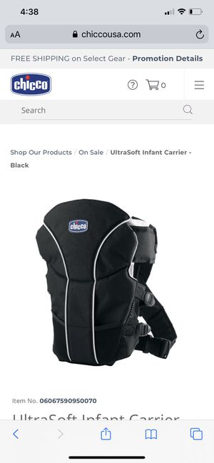 Baby carrier for Sale in Dearborn Heights, MI