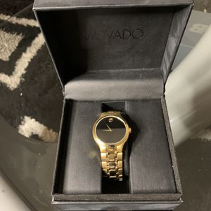 Movado Gold Watch for Sale in Oxon Hill, MD