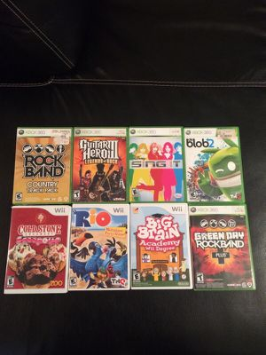 Xbox 360 & Wii games for Sale in University City, MO