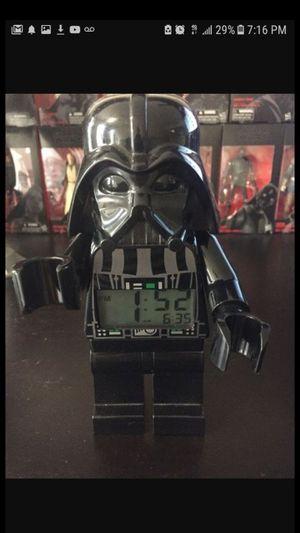 10$, ill drop off , darth vader figure alarm clock for Sale in Dallas, TX