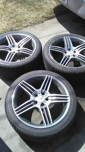 3 Mercedes-Benz stock rims for Sale in San Francisco, CA