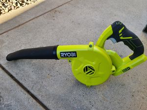 RYOBI 18-Volt ONE+ Cordless Compact Workshop Blower (Tool Only) for Sale in Murrieta, CA