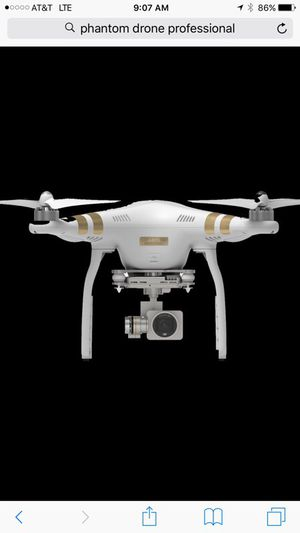 Drone Phantom 3 professional with accessories for Sale in Beltsville, MD