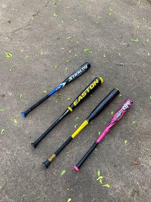 Baseball tee ball babe Ruth bats for Sale in Norman, OK