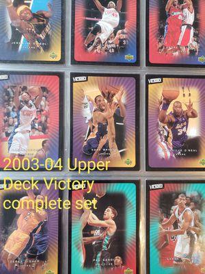 Upper Deck Victory complete NBA basketball card set for Sale in Gresham, OR