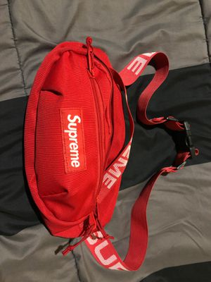 Supreme SS18 Red Waist Bag Fanny pack for Sale in Silver Spring, MD