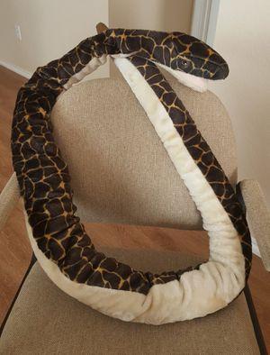 GIGANTIC Vintage Plush stuffed animal Rattlesnake OVER 7 foot long! for Sale in Leander, TX