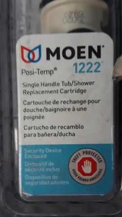 Moen posi-temp 8 single handle tub/shower replacement cartridge for Sale in Renton,  WA