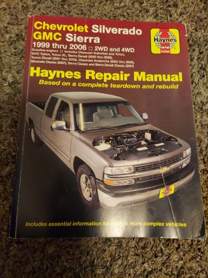 99-07 haynes manual Chevy gmc for Sale in Edgewood, WA