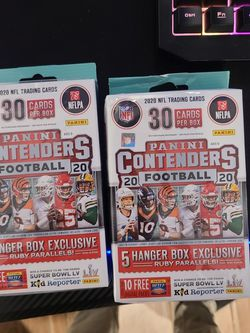 2020 Panini Contenders Football Hanger- Factory Sealed for Sale in Chicago,  IL