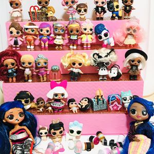 Lol Surprise Dolls Lot With Lol Display Case / Shopping Mall for Sale in Rockport, IN