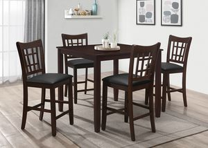 NEW IN THE BOX. 5-PC COUNTR HEIGHT DINING SET, SKU# TC7856D for Sale in Fountain Valley, CA