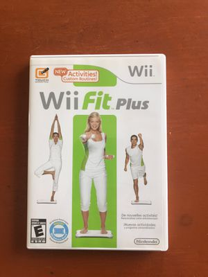 Wii fit plus dvd for Sale in North Port, FL