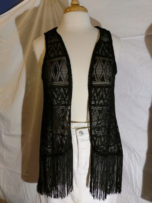 Eyeshadow brand black fringe cover up for Sale in Renton, WA