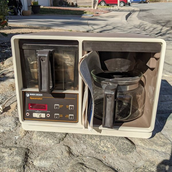 New Vintage Black And Decker Coffee Maker
