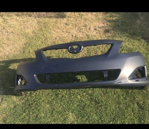 Toyota Corolla S front bumper 09-10 for Sale in Rialto, CA