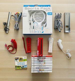 Red Nintendo Wii Extras!!! for Sale in Queen Creek, AZ
