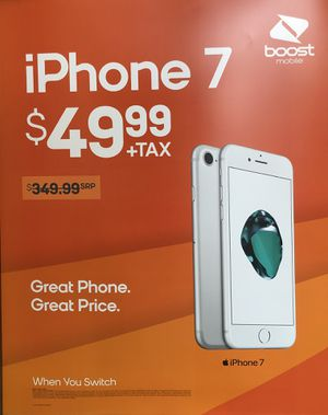 iPhone 7 for 49.99 (When you Switch to Boost Mobile) for Sale in Orlando, FL