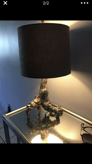 Grey lamp for Sale in Homestead, FL