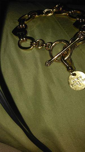 Juicy coutore heart charm bracelet for Sale in Salt Lake City, UT