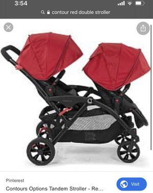 Contour Double Stroller for Sale in Tampa, FL