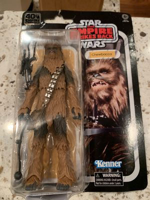 Black Series Chewbacca - Archive empire strikes back for Sale in Irvine, CA