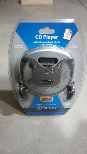 Cd player with car adaptor for Sale in Dearborn, MI