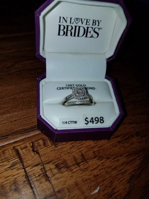 Engagement Ring and wedding band for Sale in Midlothian, VA