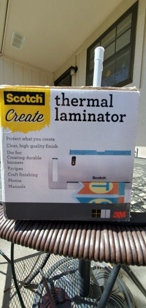 Scotch Create: Thermal laminator for Sale in Independence, MO
