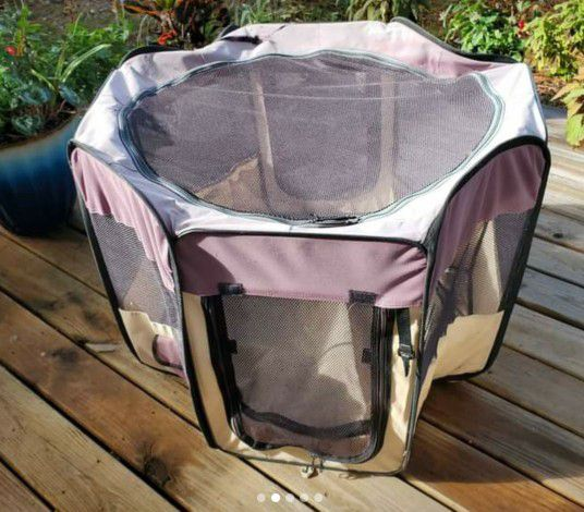 Dog Soft Sided Playpen Small