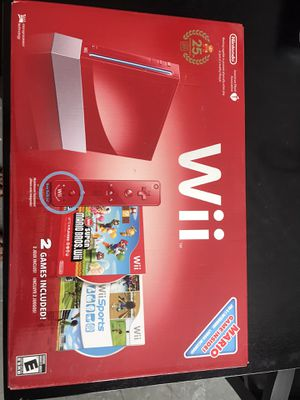 Wii 25th Anniversary Edition with games for Sale in Lutz, FL