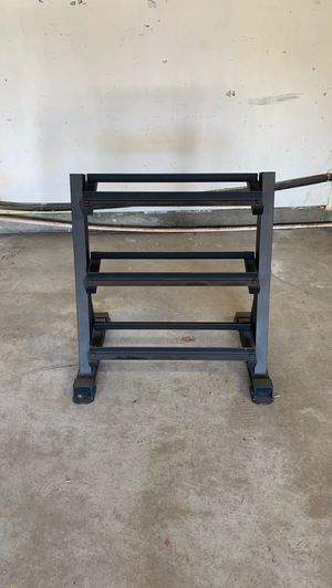 Weight Rack with 35lbs dumbells for Sale in San Jose, CA