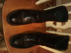 Men's wolverine work boots size 10m for Sale in Mesquite, TX