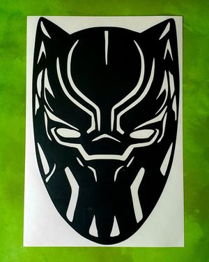 Black panther decal marvel for Sale in Columbia, MO