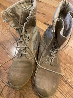 Wellco , military or work boots size 91/2R Accept offers for Sale in Alexandria,  VA