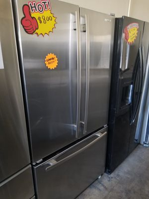JENN-AIR FRENCH DOOR STAINLESS STEEL COUNTER DEPTH for Sale in Santa Ana, CA