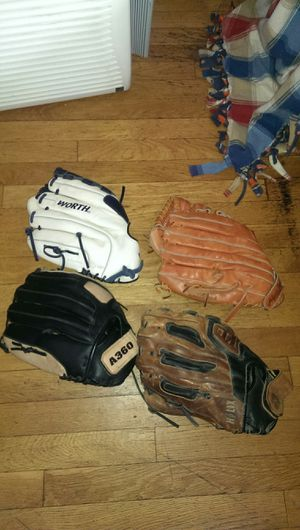 Softball glove mitt 12/13 inches Demarini Wilson Leather Nice! for Sale in Chicago, IL