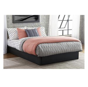 Full Size Faux Leather Platform Bed for Sale in Baltimore, MD