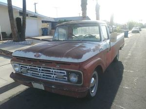 64 f100 project. Runs and drives. Chevy small block and th400 for Sale in Las Vegas, NV