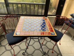 Tile Bistro Table Set for Sale in Sarasota, FL