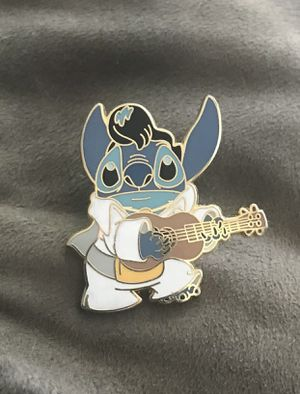 Lilo & STITCH All Shook Up as ELVIS with GUITAR Disney 2003 Pin for Sale in City of Industry, CA