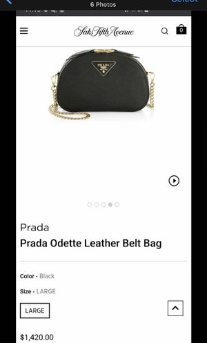 New Authentic Prada Odette leather belt bag for Sale in Alhambra, CA