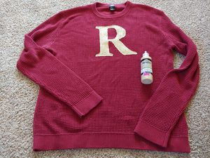 Dark Maroon Color Mens RON WEASLEY Harry Potter Costume Sweater Size XL for Sale in Covington, WA