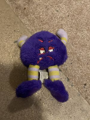 Vintage Silly Slammers Purple Monster 1998 Bean Bags With Attitude stuffed animals original rare collectible for Sale in Buena Park, CA