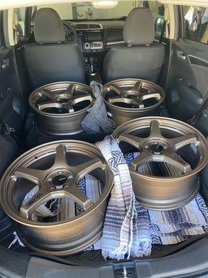 Enkei TS5 Wheels 18x8 +45 for Sale in Menifee, CA