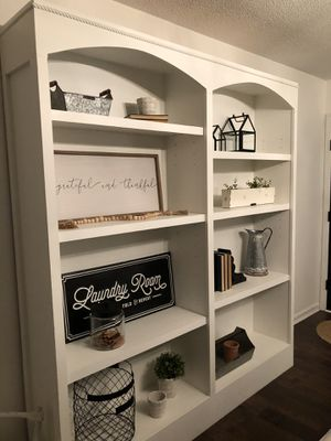 Large custom made bookcase for Sale in Broadway, NC