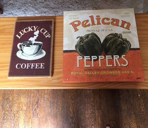 Paintings wall decor for kitchen for Sale in Columbus, OH