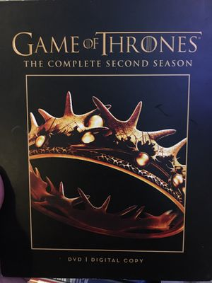 Game of Thrones Season 2 DVD for Sale in Queens, NY