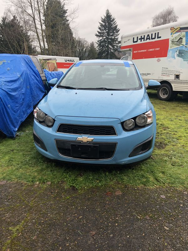 2014 Chevy sonic with after market paint job