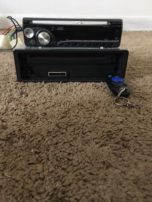 Jvc car stereo with remote. for Sale in Wilkes-Barre, PA